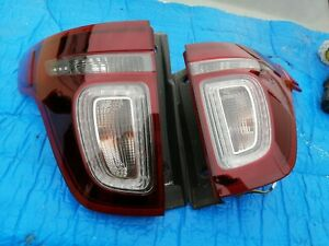 2011 2015 Ford Explorer Tail Lights 11 12 13 14 15 Set Left Right Smoked 2012
