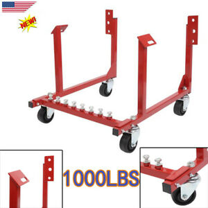 New 1000lbs Heavy Duty Steel Auto Engine Cradle Stand For Chevrolet Chevy V8 Usa