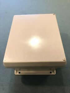 Electrical Box Enclosure 10 x 8 X 5 Fiberglass Nema 3