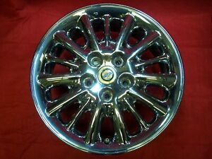 Chrysler Town And Country 2001 2004 Oem 15 Spoke 16 Wheel Rim Chrome Very Nice