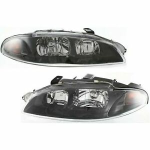 New Head Lamp Assembly Fits 1997 1999 Mitsubishi Eclipse Left Right Side