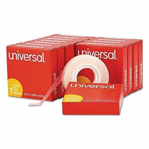 12 Pack Universal Invisible Tape 1 2 X 1296 1 Core Clear Transparent Lot Magic