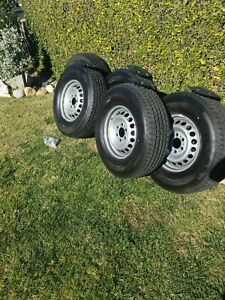 New Mercedes Sprinter 2500 Oem Wheels And Michelin 245 75 16 Tires