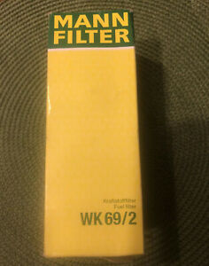 Fuel Filter Mann Wk 69 2 For Vw Jetta Golf Audi Beetle see Description