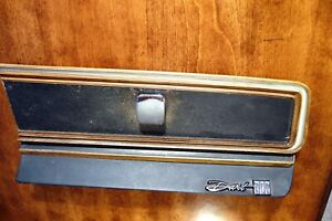 1967 Dodge Dart 270 Glove Box Door Complete Unit Gt Swinger