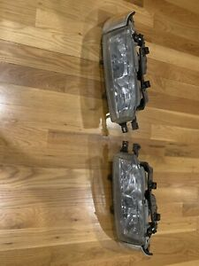 1990 1993 Honda Accord 2 Piece Headlights W Bracket Oem Stanley Cb3 Cb7 L R