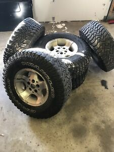 Jeep Wrangler Wheels Tire Package 33 Tires