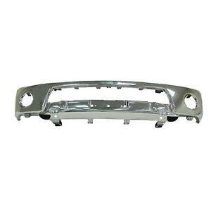 Ni1002143 New Replacement Front Bumper Bar Fits 2005 2019 Nissan Frontier