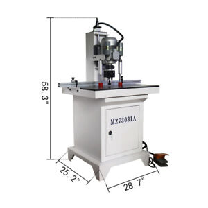 110v Pneumatic Hinge Boring Insertion Machine For Loose And Hinge Drilling New