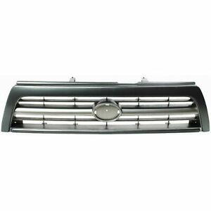 New Grille Primed Gray Shell And Insert Fits 1996 1998 Toyota 4runner To1200203