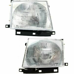 New Head Lamp Assembly Halogen Fits 1997 2000 Toyota Tacoma Left Right Side