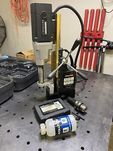 Evolution Evomag50 Heavy Duty 2 Industrial Magnetic Drill With Carry Case