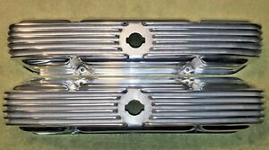 Aluminum Valve Covers For Mopar 426 Max Wedge 4 Bolt Polished Used Rare