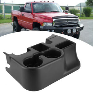 Center Console Cup Holder Car Drink Organizer For 2003 2011 Dodge Ram 1500 2500