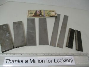 4 Matched Sets Steel Parallels Blocks Precision Parallel Hold Downs Vgc