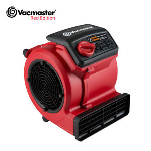 Vacmaster Air Mover Blower Fan Dryer Cooling Carpet Wall Floor Dryers 3 speed