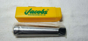 New Jacobs 30425dn 643 Drill Sleeve Mt3 Inside Mt4 Outside Morse Taper