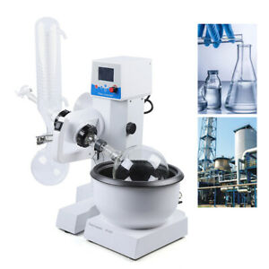 2l Digital Lcd Display Lab Rotary Evaporator 20 200rpm Adjustable W Condenser