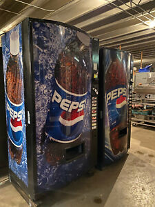 Vendo 511 Bottles cans Pepsi Vending Machine Sale