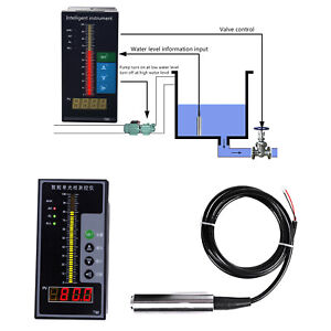 Submersible Level Sensor Transmitter Intelligent Pressure Controller 24v