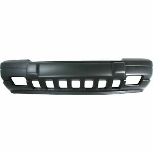 New Bumper Cover Textured Fits 1996 98 Jeep Grand Cherokee Front Side Ch1000844