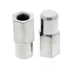 Speedway 37 48 Ford Car Kingpin Cross Bolt Spindle Stop Nuts Stainless