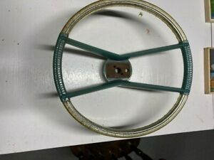 Original 1960 Plymouth Fury Aero Deluxe Accessory Steering Wheel Nos 1961