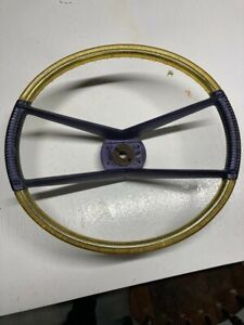 Original 1960 Plymouth Fury Aero Deluxe Accessory Steering Wheel