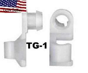 Chevy Gmc Trucks Tailgate Universal Clips With The 3 16 Tailgate Rods 1 pair Tg1