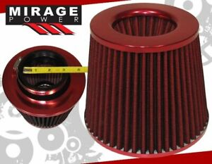 Turbo Supercharger 3 Id Inner High Flow Air Filter Full Red Celica Corolla Mr2
