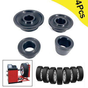 4pcs Tire Balancer Cone Wheel Balancer Adapter Cones For 36mm Shaft Car Truck