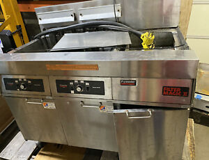 Frymaster Electric Fmh214sd Fryer Xtra Clean Filtration Commercial Dual Unit