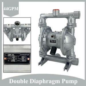 Air operated Double Diaphragm Pump Transfer Qbk 40l 44gpm 1 1 2 inlet outlet