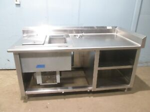 delfied Hd Commercial Ss nsf Server s Refrigerated Ice Cream dessert Station