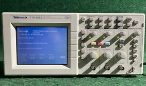 Tektronix Tds 2012 Two Channel 100mhz 1gs s Digital Storage Oscilloscope Color