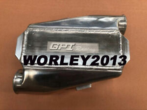 Universal Aluminum Intercooler Water To Air 2 5 Inlet Outlet 11 X 9 X 3 5