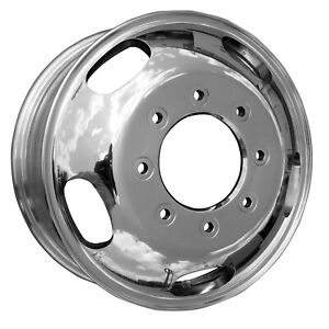 03618 New Compatible Front 17in Aluminum Wheel Fits F350 Super Duty 05 19 Polish