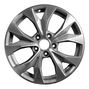 64025 Refinished Honda Civic 2012 2013 17 Inch Wheel Rim Oe