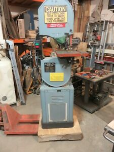 Delta Metal Wood 14 Cutting Band Saw 28 303 Single Phase 1 5 H p New Motor