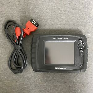 Snap On Ethos Pro Touch Screen Diagnostic Scanner W Cable Read