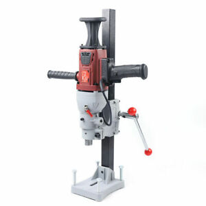 Vertical Diamond Core Drill Wet dry Concrete Drilling Machine Max 180mm W Stand