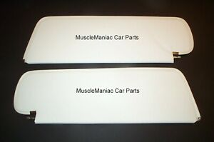 1962 1964 Impala 2door Hardtop Sunvisors Star Material Colors Available 62 63 64