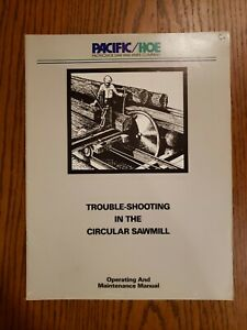 Trouble shooting In The Circular Sawmill By R Hoe Co