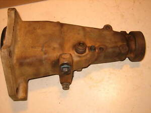 1966 79 Chevy Transmission Saginaw Tailhousing 3 4 Speed W Shifter Mounting