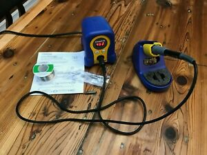 Hakko Fx888d 23by Digital Soldering Station With Extra Tips Solder