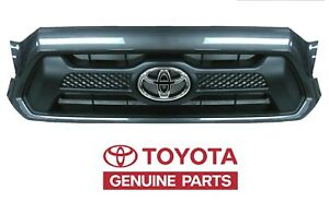 Genuinetoyota 2012 2013 2014 Tacoma Sport Magnetic Grey Grille Oem Oe New