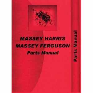 Parts Manual 135 Compatible With Massey Ferguson 135 135