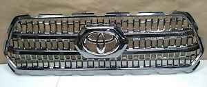 16 19 Toyota Tacoma Trd Front Grille Grill Emblem Oem Factory Q82m