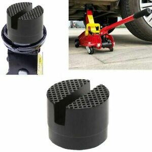 1pcs Car Lift Jack Stand Rubber Pads Slotted Floor Jack Pad Frame Rail Adapter