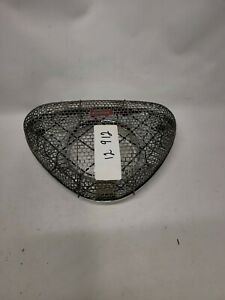 Vintage Edelbrock Chrome Pro Flo Triangle Mesh Air Cleaner
